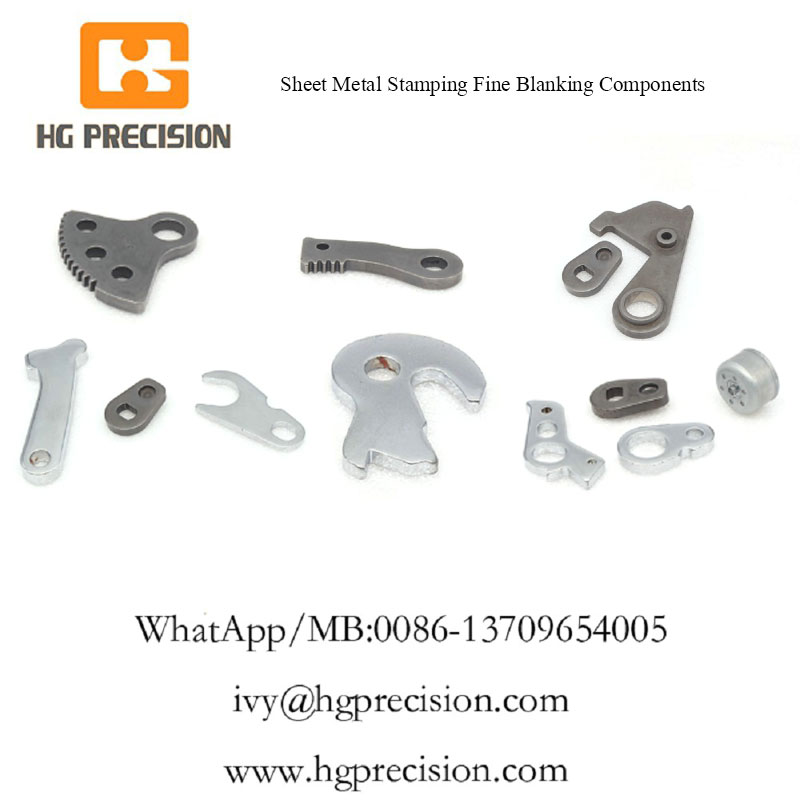 Sheet Metal Stamping Fine Blanking Components - HG